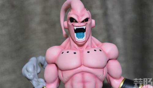 《七龙珠》魔人大布欧雕像 仰天狂笑邪气无比 模玩 第3张