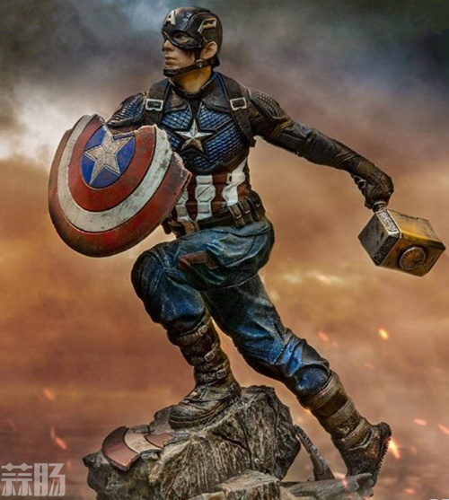 Iron Studios《复仇者联盟4:终局之战》美国队长1/10雕像 模玩 第5张