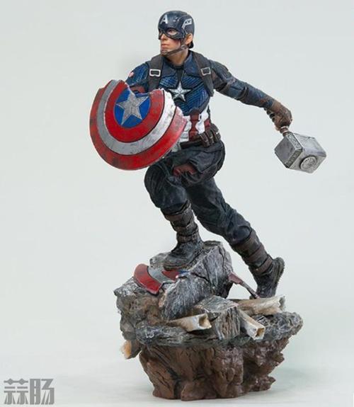 Iron Studios《复仇者联盟4:终局之战》美国队长1/10雕像 模玩 第1张