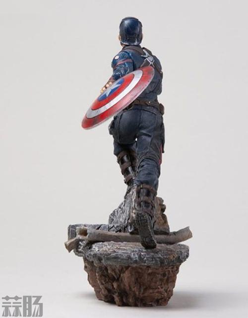 Iron Studios《复仇者联盟4:终局之战》美国队长1/10雕像 模玩 第2张