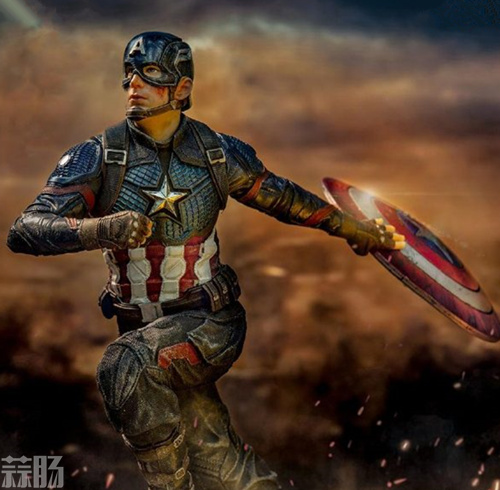 Iron Studios《复仇者联盟4:终局之战》美国队长1/10雕像