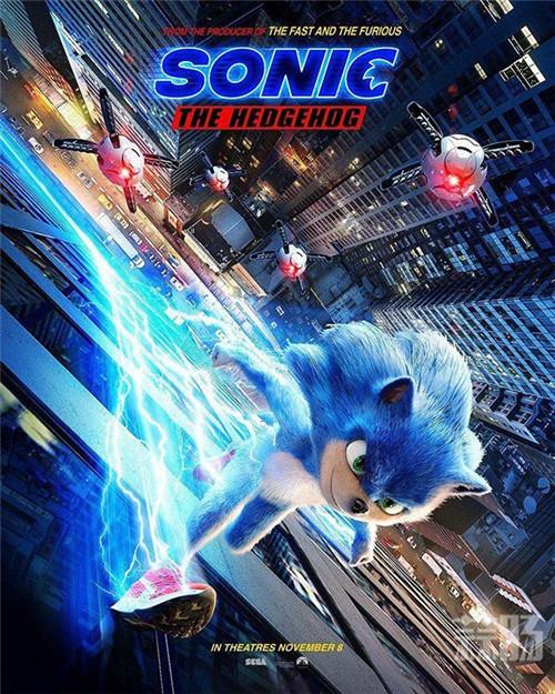 电影《刺猬索尼克》宣布延期!2020年2月上映决定 电影 动画 金凯瑞 世嘉 索尼克 动漫  第1张