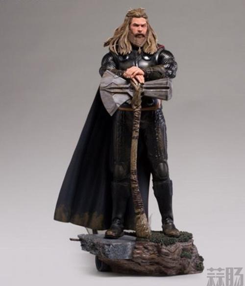 Iron Studios《复仇者联盟4:终局之战》雷神索尔1/10雕像 模玩 第3张