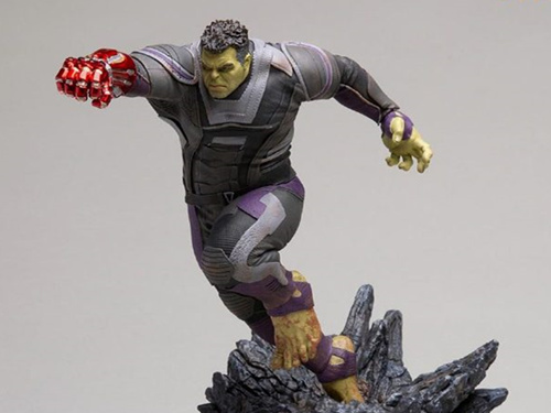 Iron Studios出品《复仇者联盟4:终局之战》1/10绿巨人浩克雕像
