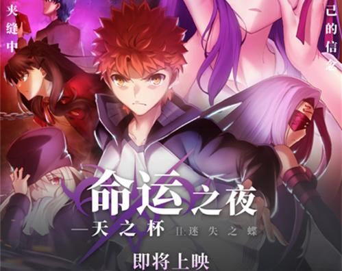 剧场版动画《Fate/HF》第二章确定引进国内上映