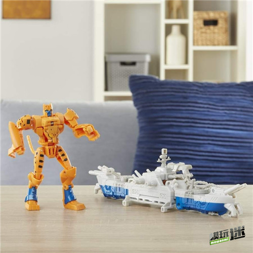 《变形金刚:赛博志》火种装甲系列新玩具守护者黄豹登场 变形金刚 第3张