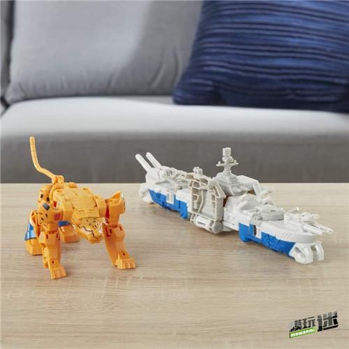 《变形金刚:赛博志》火种装甲系列新玩具守护者黄豹登场 变形金刚 第1张