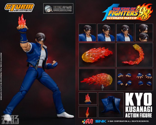 Storm Collectibles发布 King of Fighters'98 草薙京手办 模玩