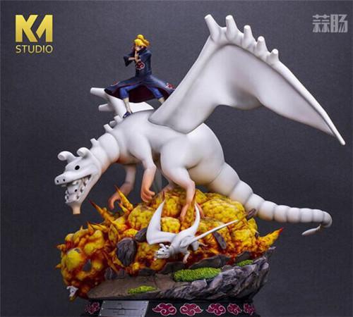 """《火影忍者》迪达拉雕像 操纵粘土巨龙展现""""艺术"""" 模玩 第2张"""