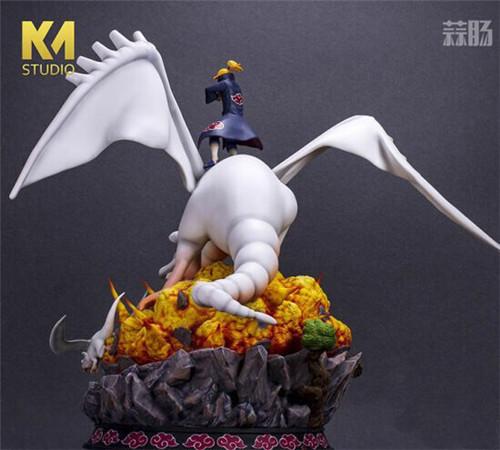 """《火影忍者》迪达拉雕像 操纵粘土巨龙展现""""艺术"""" 模玩 第3张"""
