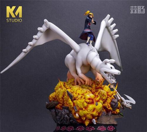 """《火影忍者》迪达拉雕像 操纵粘土巨龙展现""""艺术"""" 模玩 第5张"""