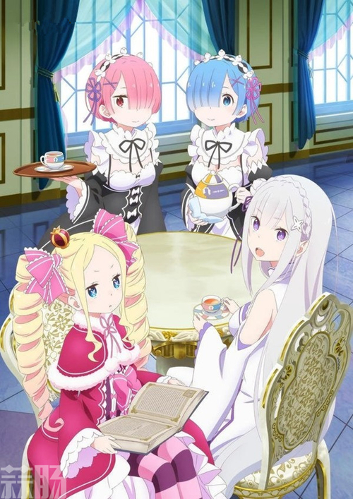 KADOKAWA《Re:0》爱蜜莉雅茶会版1/7比例手办 模玩 第3张