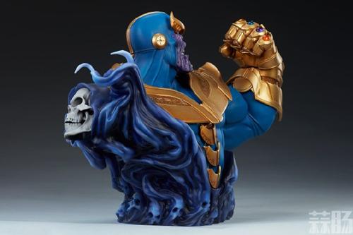 Sideshow新品:10.5寸漫威系列- Thanos/灭霸 半身胸像