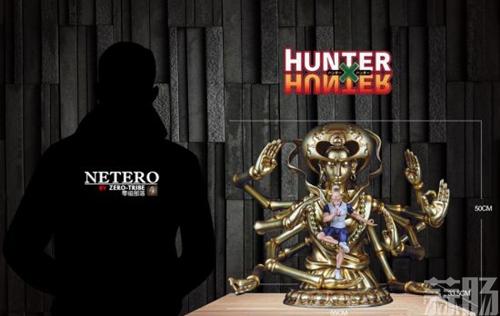 《全职猎人》会长尼特罗雕像 百式观音气势爆表 模玩 第1张