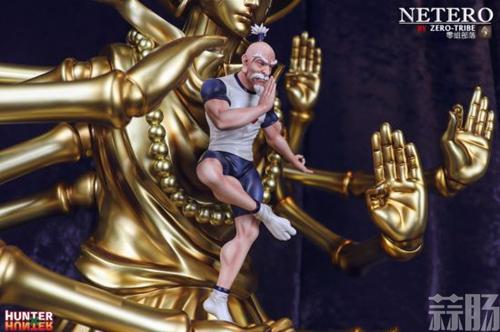 《全职猎人》会长尼特罗雕像 百式观音气势爆表 模玩 第5张