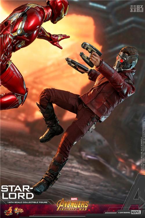 Hot Toys《复仇者联盟3: 无限战争》星爵1:6比例珍藏人偶 模玩 第2张