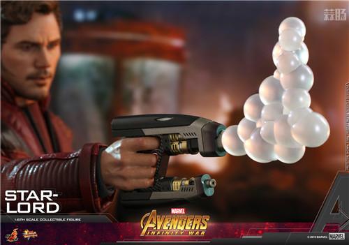 Hot Toys《复仇者联盟3: 无限战争》星爵1:6比例珍藏人偶 模玩 第5张