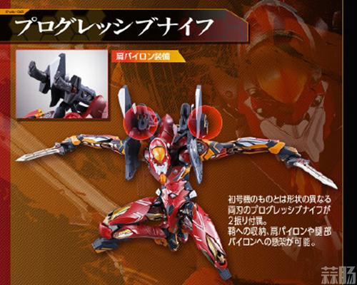 万代《EVA》赤红之二号机模型公开 经典涂装细节震撼! 模玩 第1张
