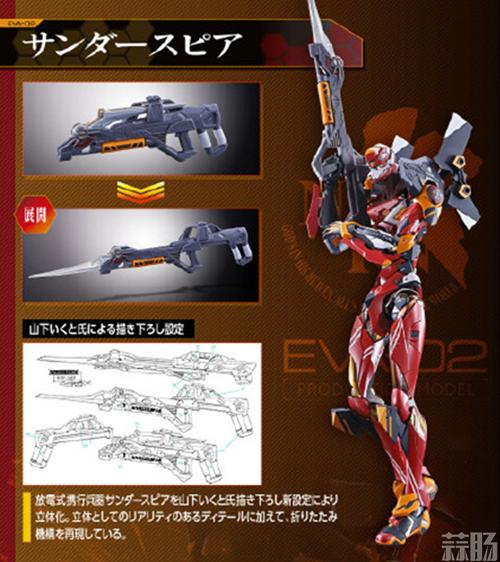 万代《EVA》赤红之二号机模型公开 经典涂装细节震撼! 模玩 第8张