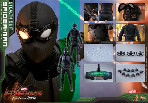 Hot Toys推出《蜘蛛侠: 英雄远征》蜘蛛侠1:6比例珍藏人偶 模玩 第5张