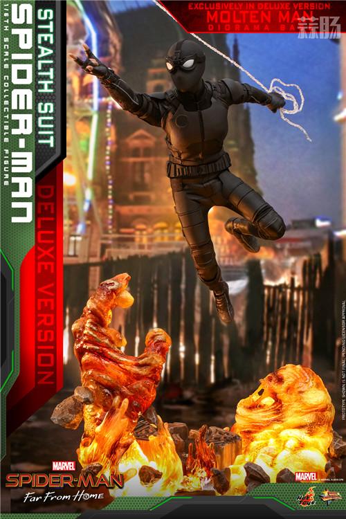Hot Toys推出《蜘蛛侠: 英雄远征》蜘蛛侠1:6比例珍藏人偶 模玩 第7张