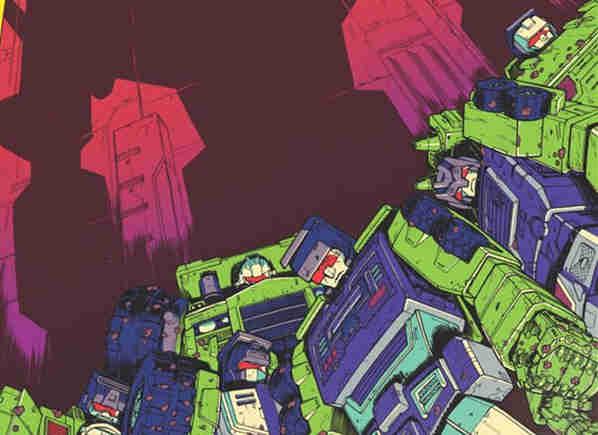 IDW推出新《变形金刚》漫画衍生系列《变形金刚:星系》挖地虎登场