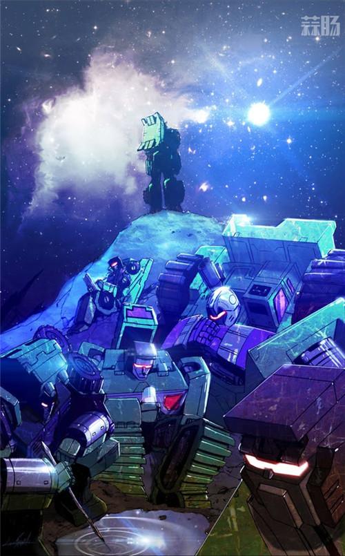 IDW推出新《变形金刚》漫画衍生系列《变形金刚:星系》挖地虎登场 变形金刚 第1张