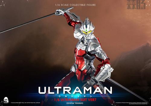 《机动奥特曼》ULTRAMAN(动画版)1/6比例可动人偶 ULTRAMAN SUIT Ver7 NETFLIX 机动奥特曼 模玩  第1张
