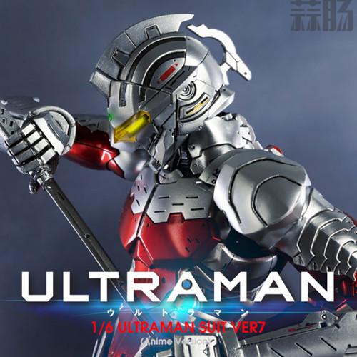 《机动奥特曼》ULTRAMAN(动画版)1/6比例可动人偶 ULTRAMAN SUIT Ver7 NETFLIX 机动奥特曼 模玩  第5张