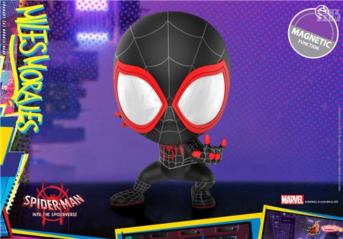 Hot Toys 推出《蜘蛛侠:平行宇宙》COSBABY 迷你珍藏人偶 模玩 第2张