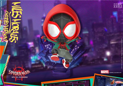 Hot Toys 推出《蜘蛛侠:平行宇宙》COSBABY 迷你珍藏人偶 模玩 第1张