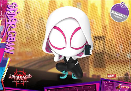 Hot Toys 推出《蜘蛛侠:平行宇宙》COSBABY 迷你珍藏人偶 模玩 第4张