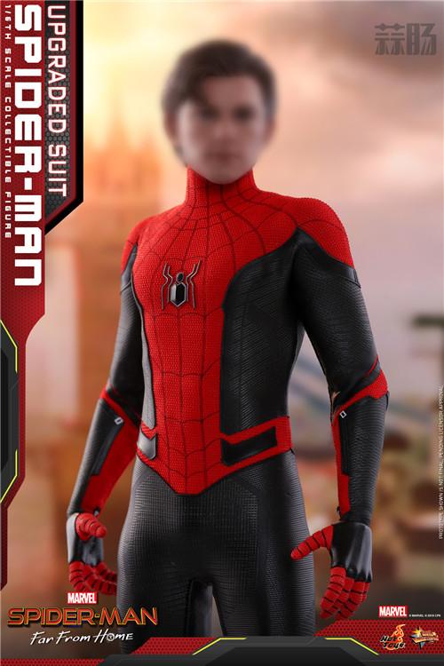 Hot Toys推出《蜘蛛侠: 英雄远征》蜘蛛侠 (升级战衣版) 1:6比例珍藏人偶 模玩 第3张