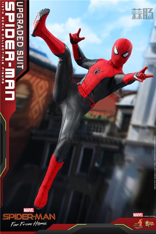 Hot Toys推出《蜘蛛侠: 英雄远征》蜘蛛侠 (升级战衣版) 1:6比例珍藏人偶 模玩 第2张