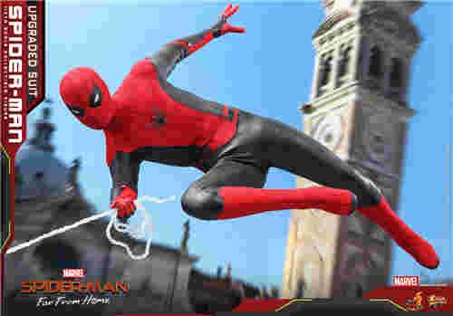 Hot Toys推出《蜘蛛侠: 英雄远征》蜘蛛侠 (升级战衣版) 1:6比例珍藏人偶 模玩 第7张
