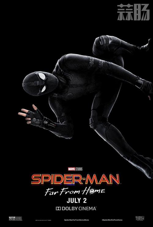 《蜘蛛侠:英雄远征》发布身着潜行衣海报! 动漫
