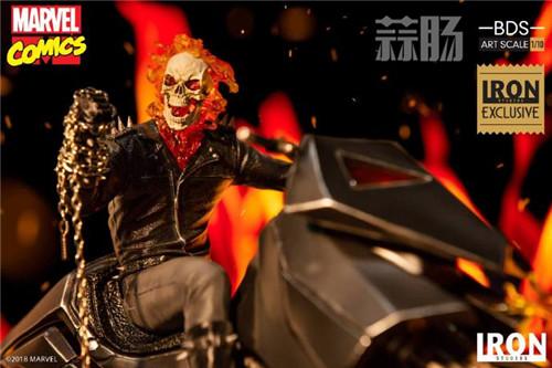 Iron Studios将再度发售恶灵骑士! 模玩 第2张
