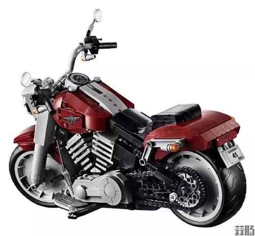 乐高版Fat Boy哈雷摩托车发布 模玩 第3张