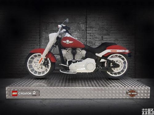 乐高版Fat Boy哈雷摩托车发布 模玩 第6张