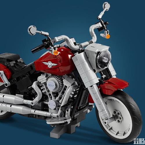 乐高版Fat Boy哈雷摩托车发布 模玩 第7张