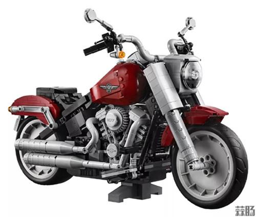 乐高版Fat Boy哈雷摩托车发布 模玩 第5张