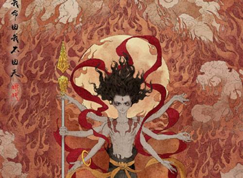 《哪吒之魔童降世》公布中国风角色海报