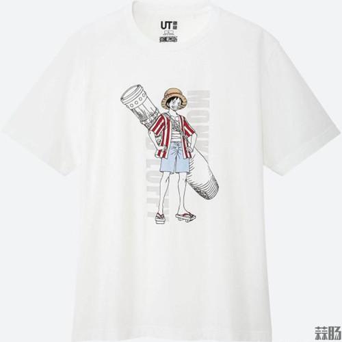 优衣库&《海贼王》剧场版T恤来了! 尾田荣一郎 海贼王 优衣库 动漫  第6张