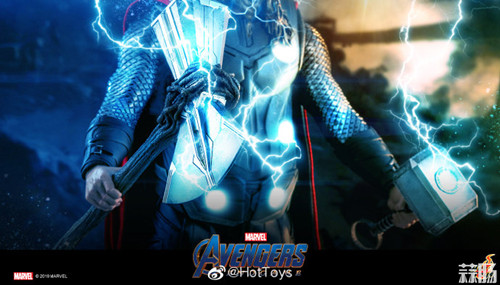 HT即将推出《复仇者联盟4:终局之战》雷神手办 模玩