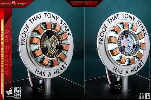 Hot Toys推出1:1比例托尼•斯塔克胸口反应器珍藏品