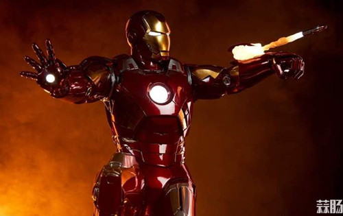 Sideshow Collectibles 复仇者联盟 Iron Man Mark VII Maquette 1:4 雕像