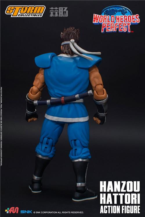 ST公布1/12《世界英雄完美版》服部半藏可动人偶 模玩 第2张