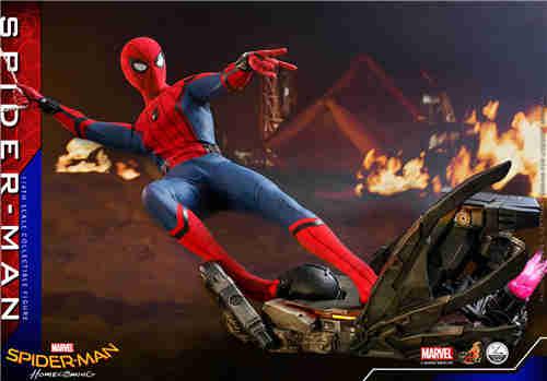 Hot Toys公布《蜘蛛侠: 英雄归来》蜘蛛侠1:4比例珍藏人偶
