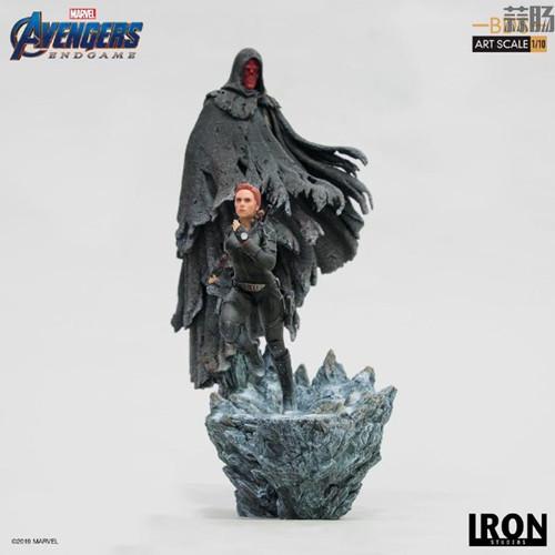 Iron Studios发布复仇者联盟4:终局之战1/10黑寡妇和红骷髅造型雕像 模玩 第1张