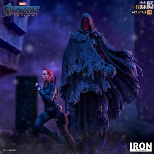 Iron Studios发布复仇者联盟4:终局之战1/10黑寡妇和红骷髅造型雕像 模玩 第2张